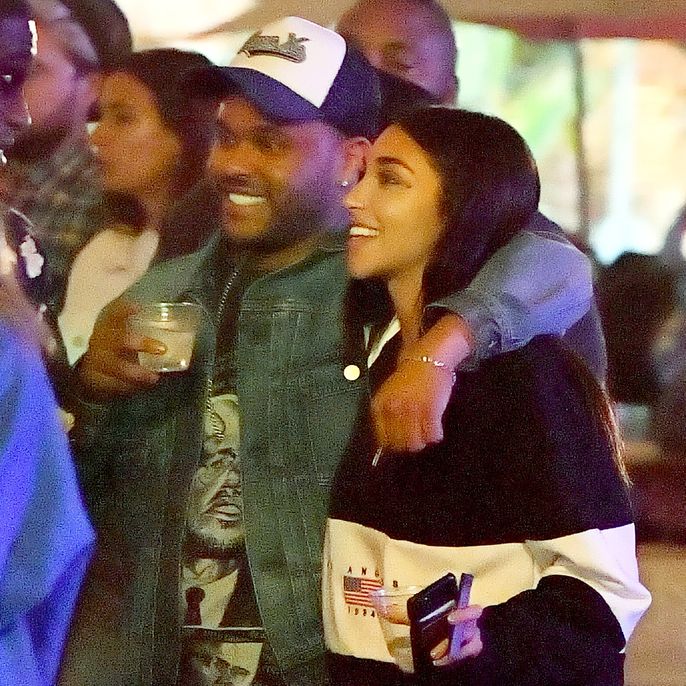 The Weeknd Chantel Jeffries Casually Dating