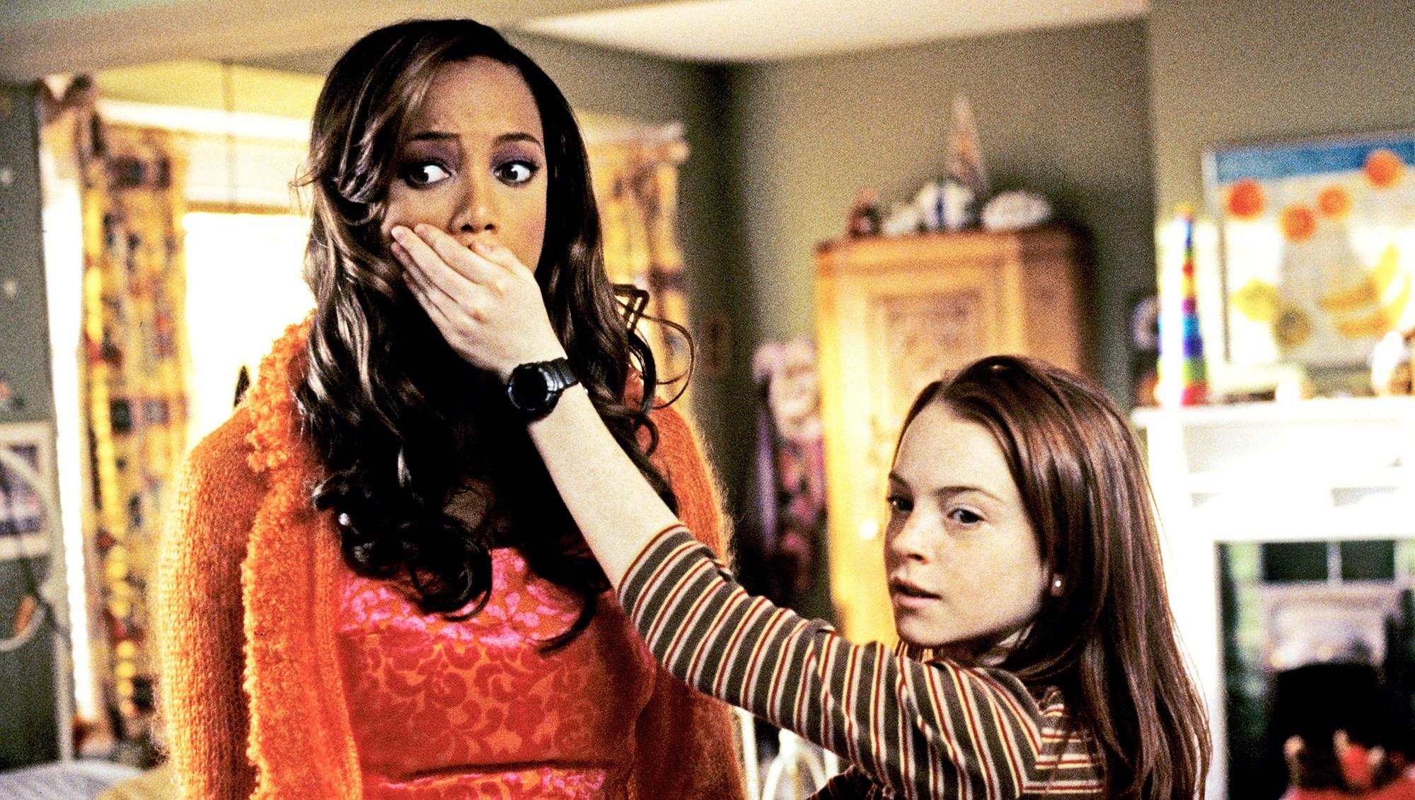 Tyra Banks Lindsay Lohan Life-Size 2