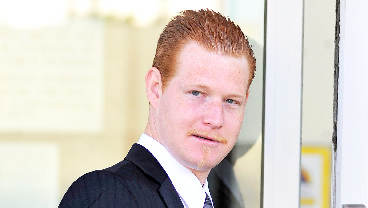 Redmond O'Neal arrives at LAX Courthouse on October 9, 2012 in Los Angeles, California.