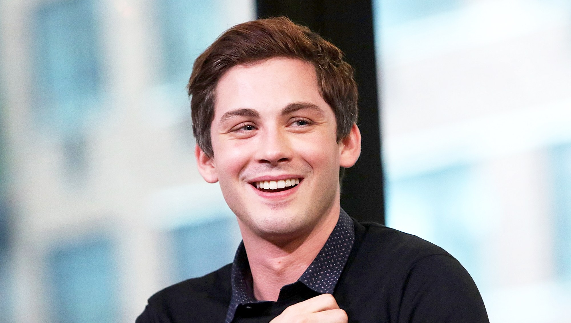 "Logan Lerman attends AOL Build Presents to discuss the film ""Indignation"" at AOL HQ on July 26, 2016 in New York City."