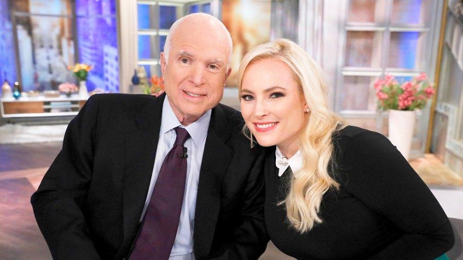 John McCain and Meghan McCain on 'The View'
