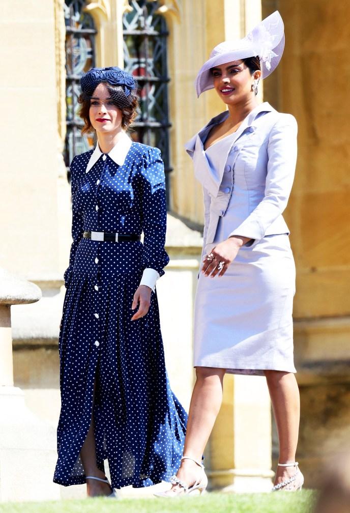 Abigail Spencer and Priyanka Chopra Royal Wedding Gallery