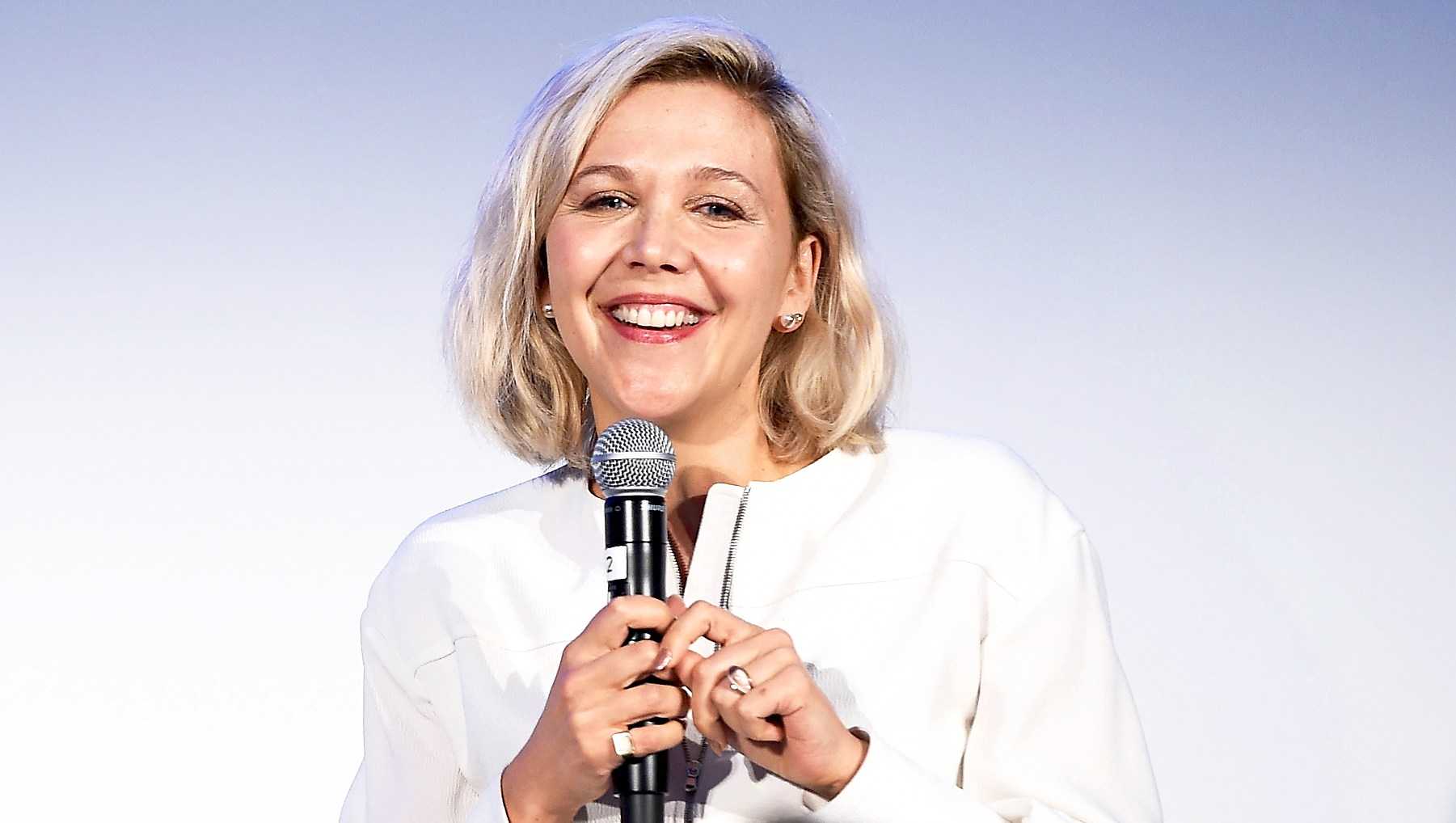 Maggie Gyllenhaal speaks onstage at Vulture Festival Presented By AT&T at Milk Studios on May 19, 2018 in New York City.