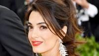 Amal Clooney Met Gala 2018 Wildest Hair and Makeup