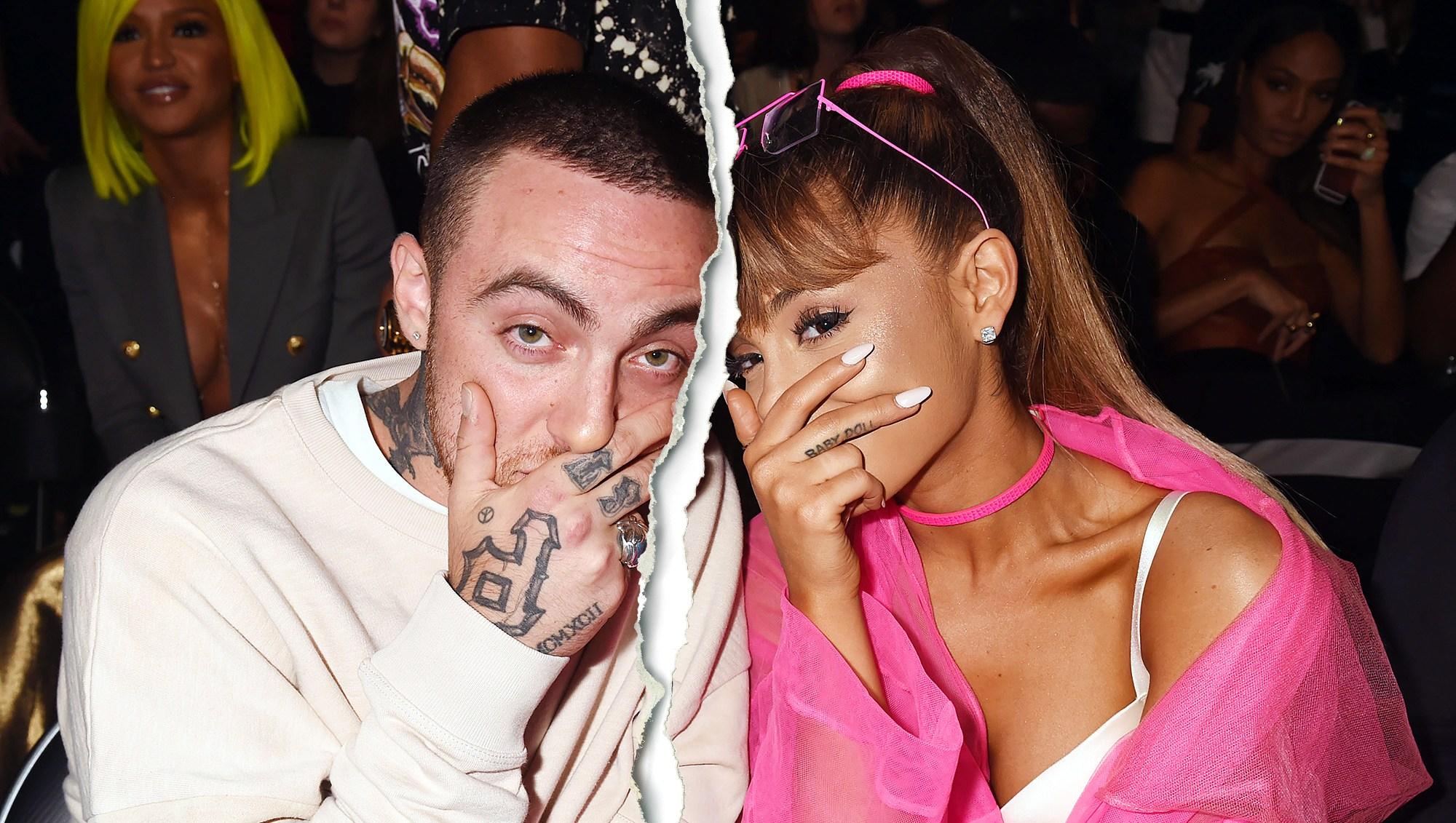 Mac Miller Ariana Grande split