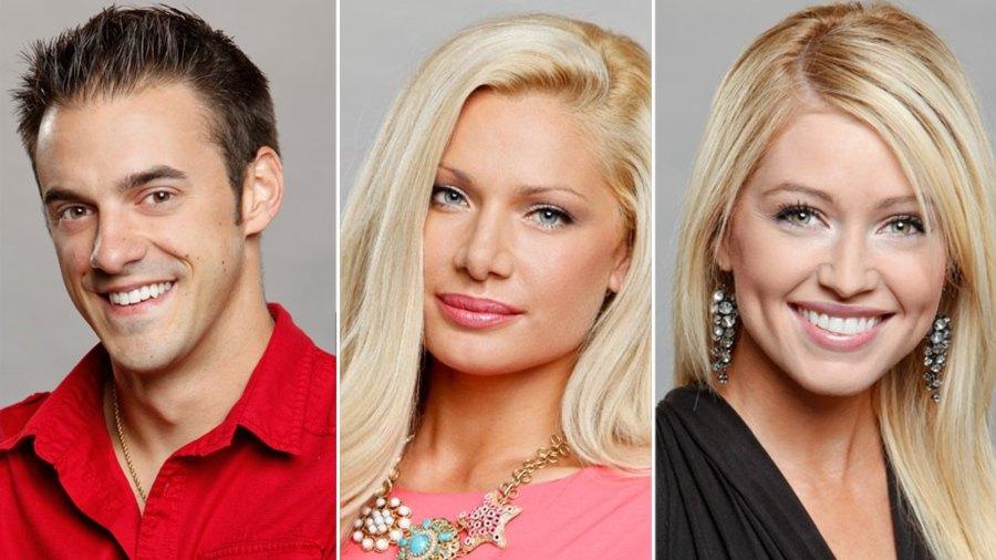 Dan Gheesling, Janelle Pierzina and Britney Haynes