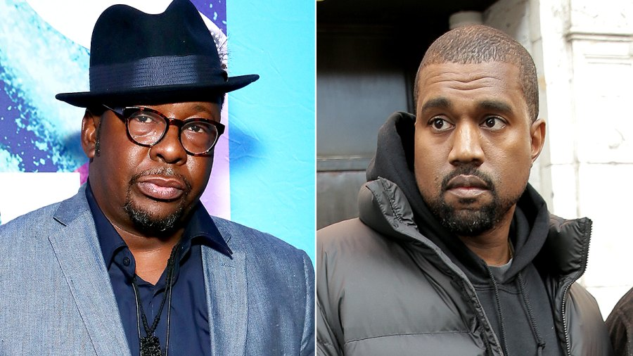 Bobby Brown and Kanye West