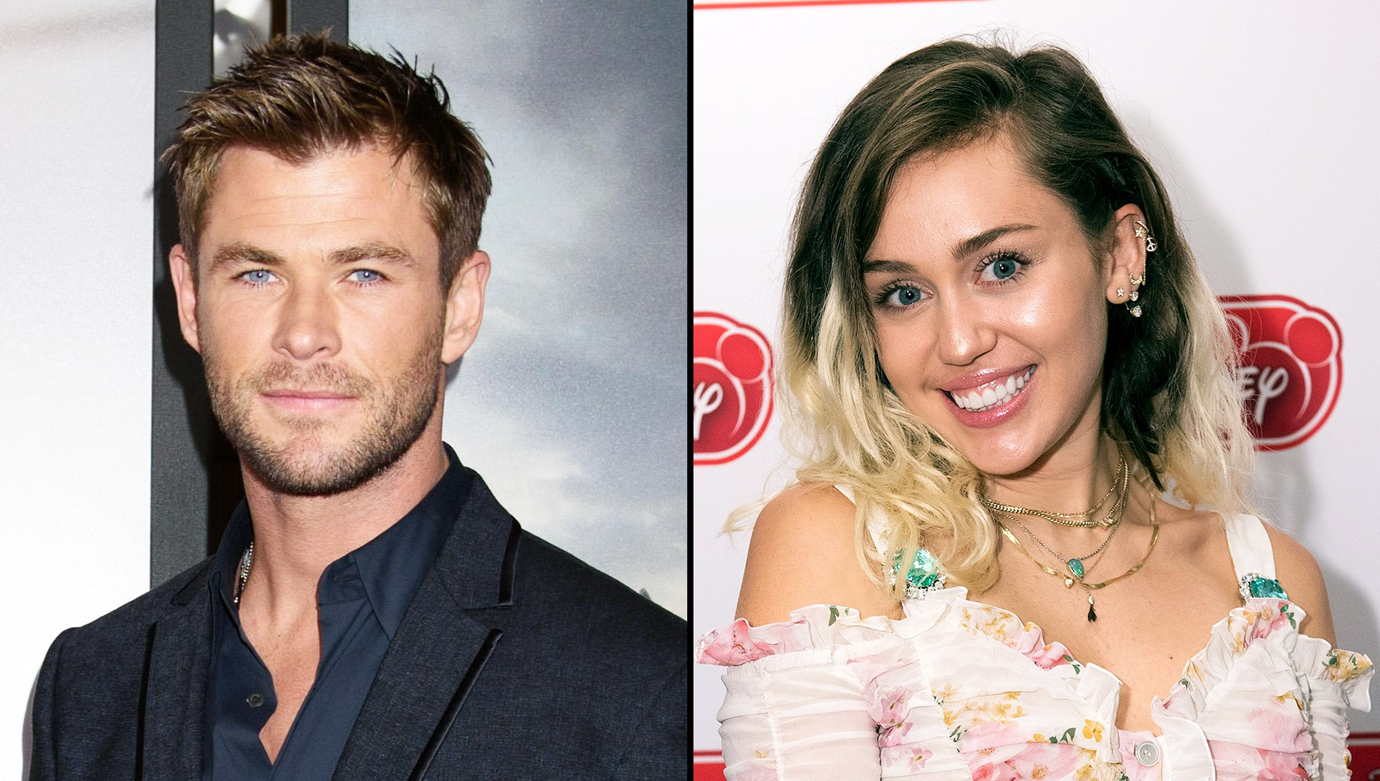 Chris Hemsworth Miley Cyrus