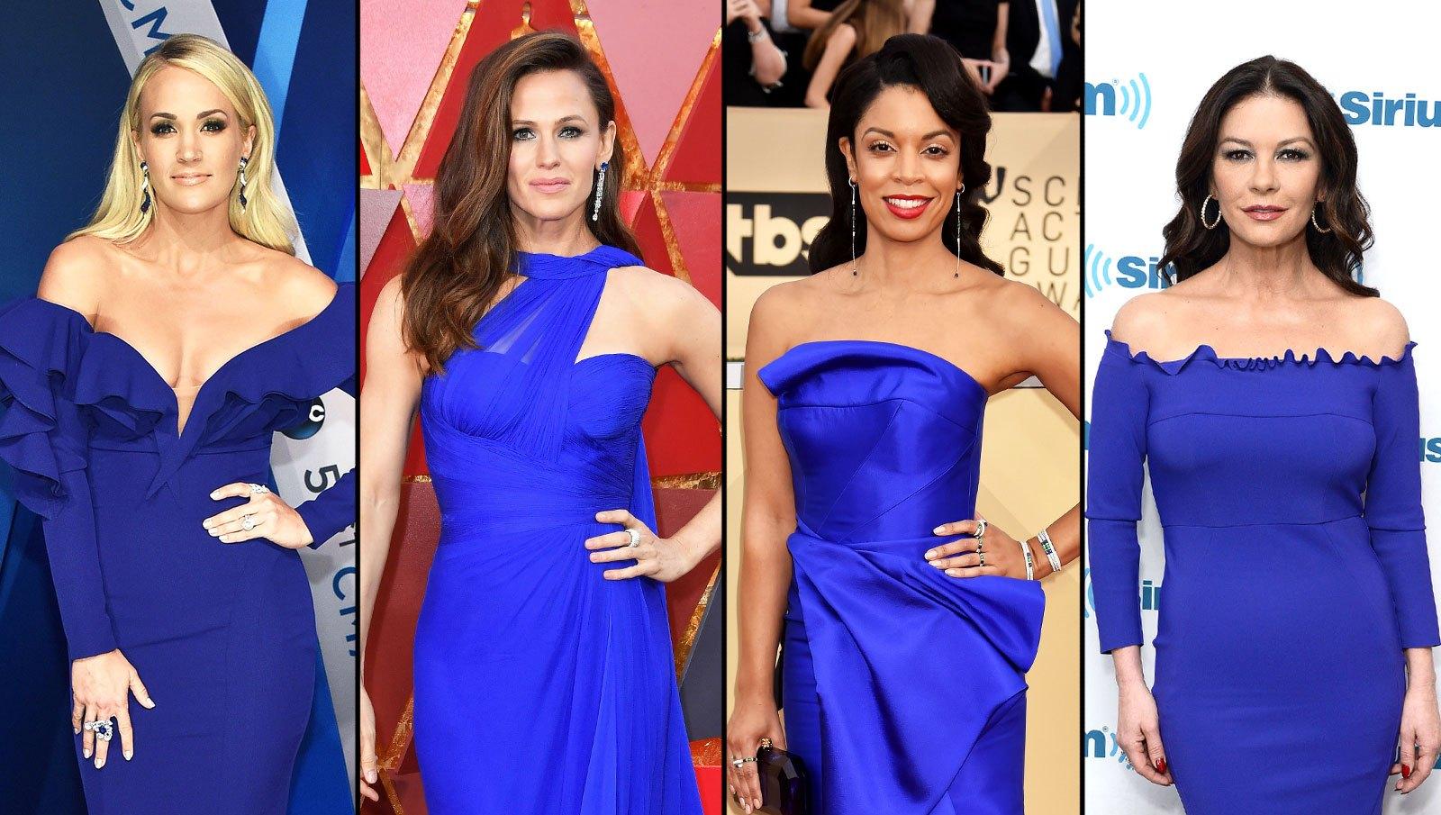 Carrie Underwood, Jennifer Garner, Susan Kelechi Watson, Catherine Zeta Jones
