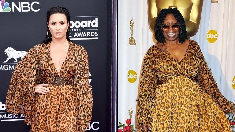 Demi Lovato + Whoopi Goldberg