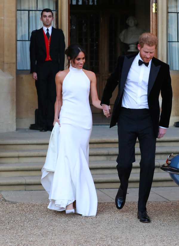 Meghan Wows in Her Slinky Wedding Party Dress by Stella ...