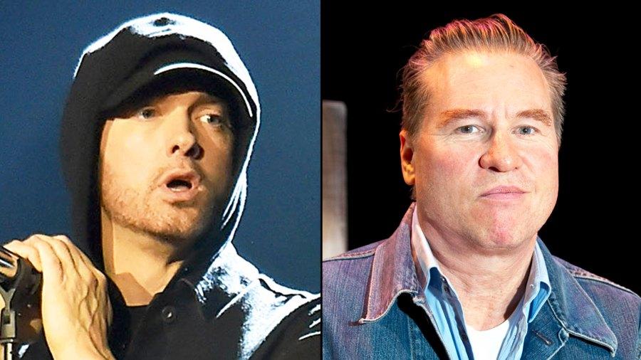 Eminem and Val Kilmer