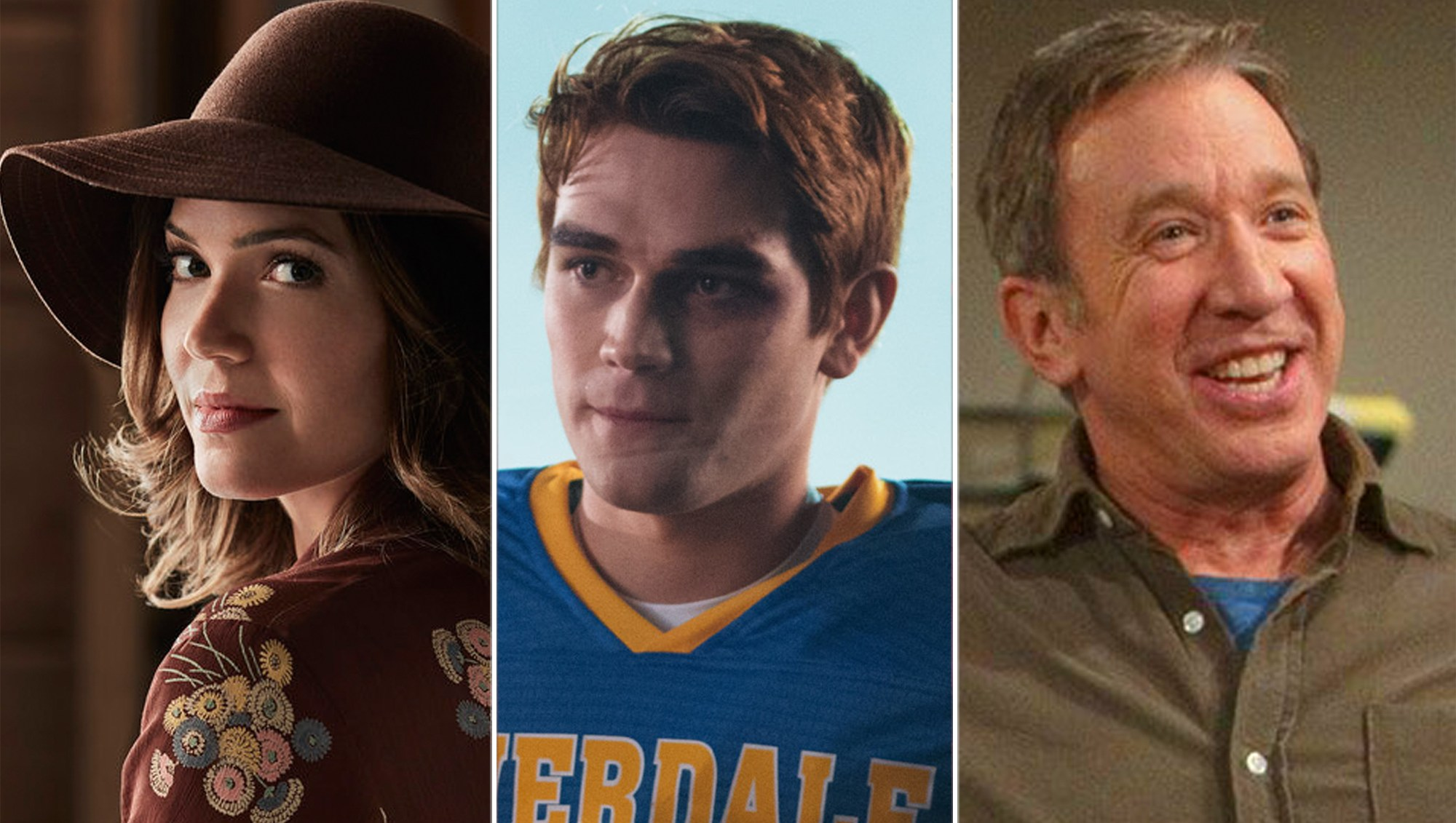 This Is Us, Riverdale and Last Man Standing