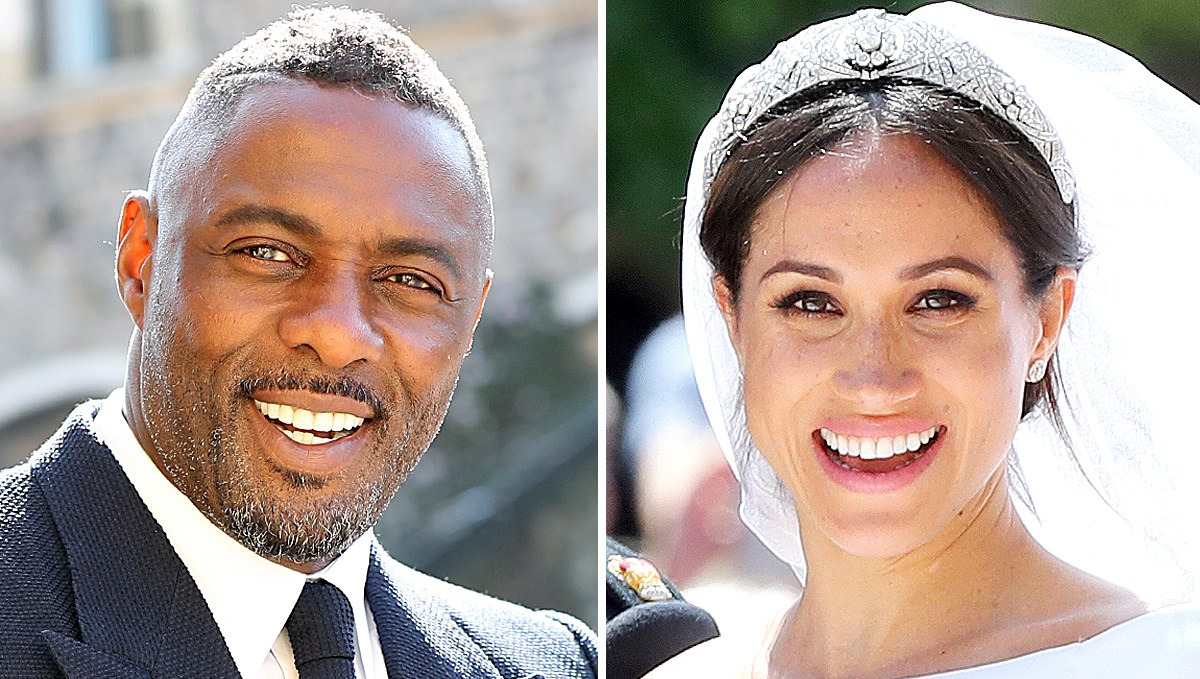 Idris Elba and Duchess Meghan