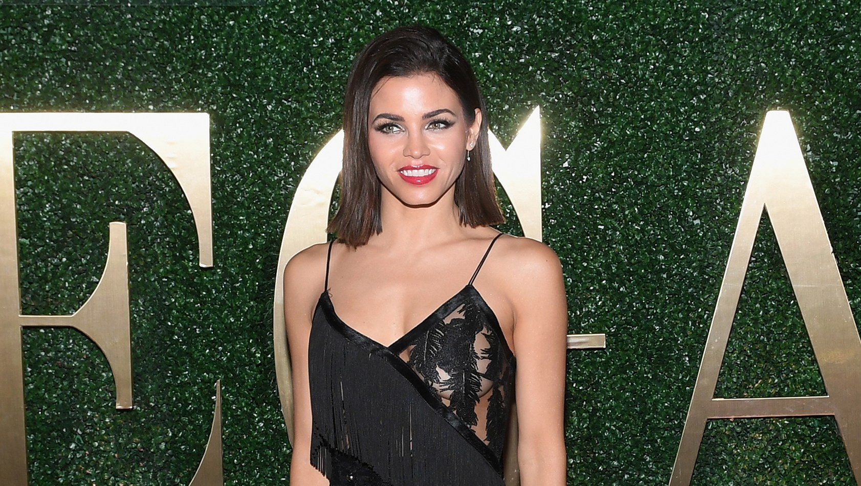 Jenna Dewan arrives at VEGAS Magazine's 15th anniversary party