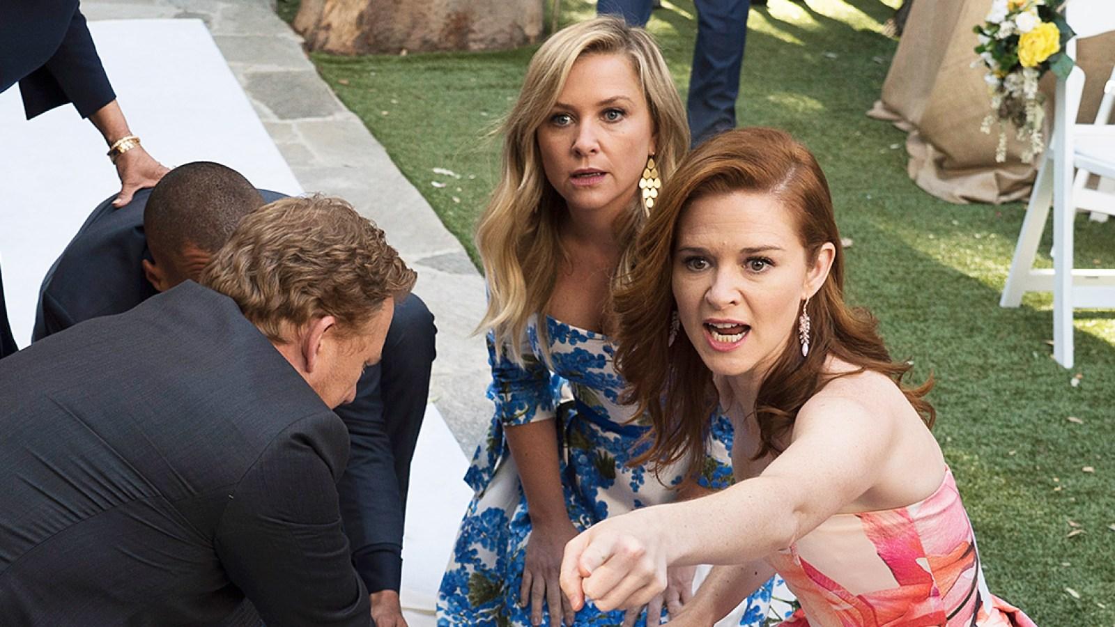 Sarah Drew, Jessica Capshaw Reveal Gift From \'Grey\'s Anatomy\' Cast
