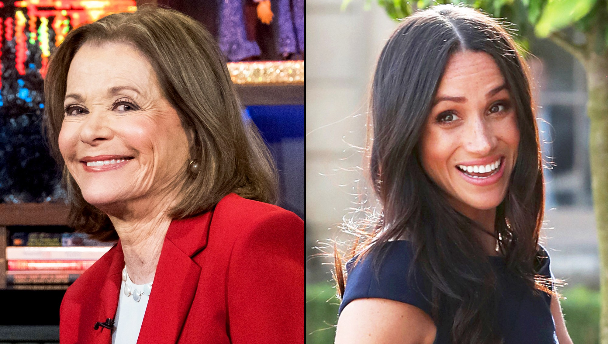 Jessica Walter and Meghan Markle
