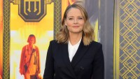 Jodie Foster attends the Los Angeles premiere of 'Hotel Artemis'