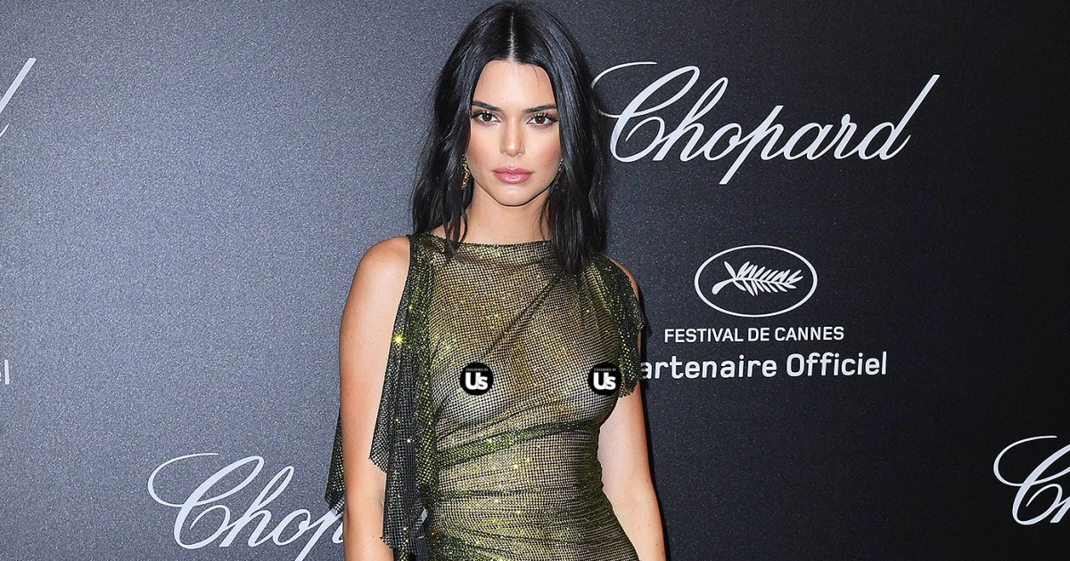 dadf2ca27ee Kendall Jenner Bares Nipples in See-Through Dresses at Cannes  Pics