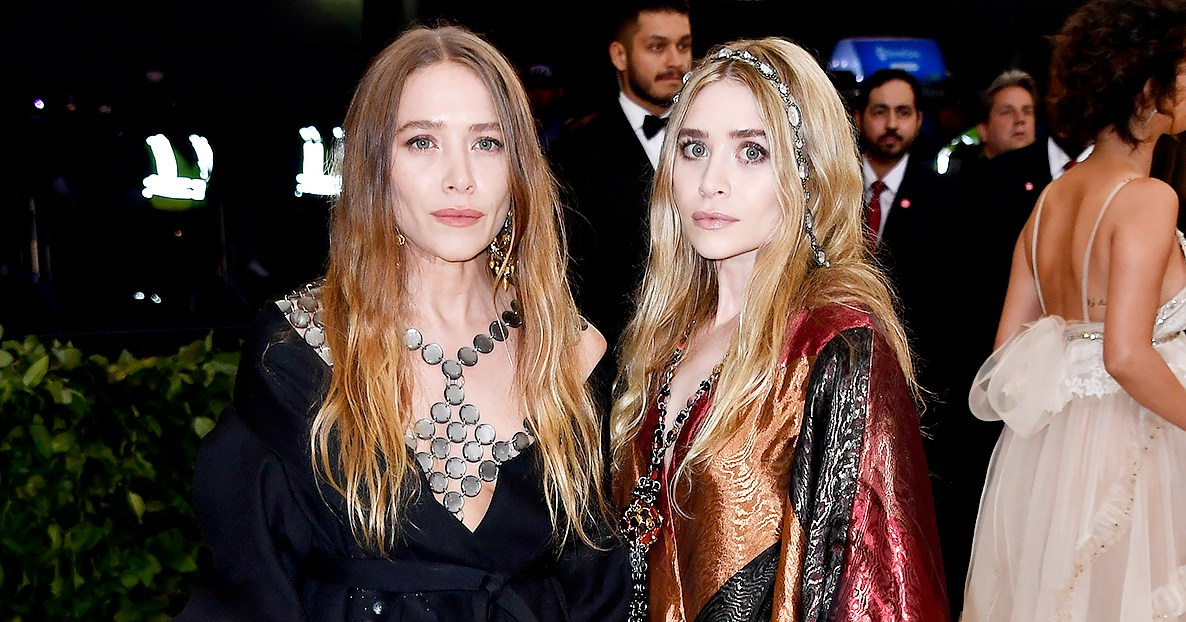 met gala 2018 marykate ashley olsen walk red carpet