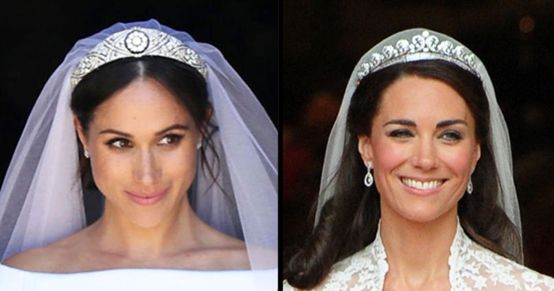Kate Middleton and Meghan Markle's Wedding Dresses: Who ...