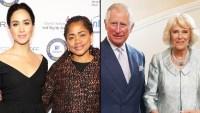 Meghan Markle Doria Ragland Tea Prince Charles Camilla