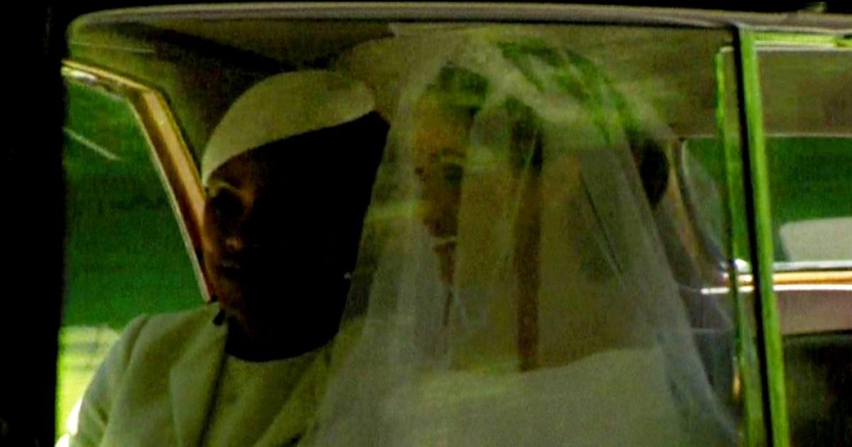 Meghan Markle And Mom Doria Head By Car To Royal Wedding