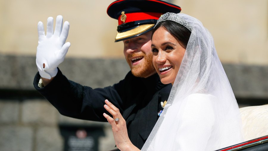 Meghan Markle, Prince Harry, Royal Wedding, Luncheon, Details, Procession