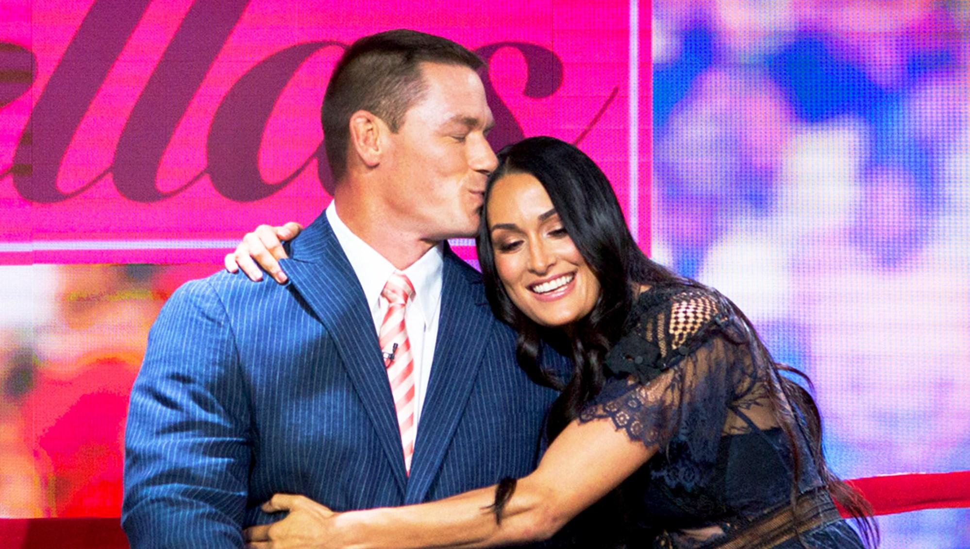 John Cena and Nikki Bella on 'Today' show