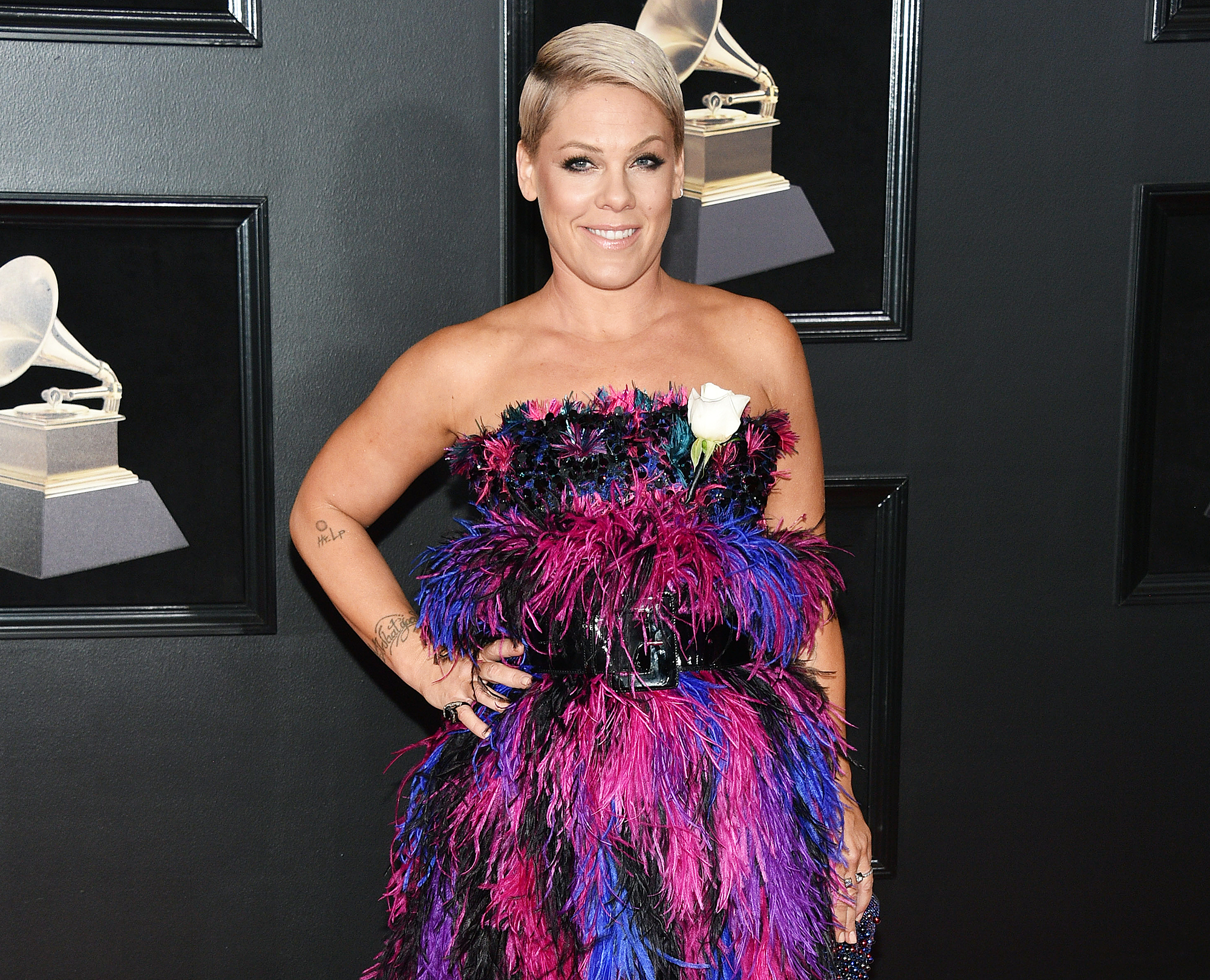 Pink owns Twitter troll who called her old: