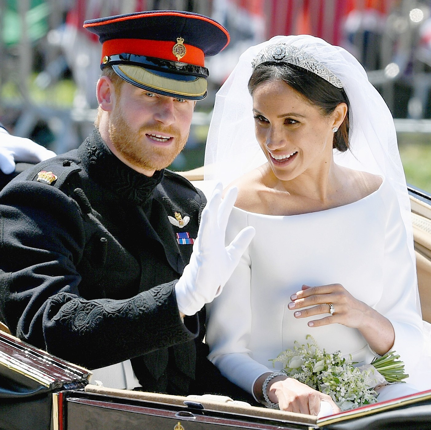 Prince Harry, Duchess Meghan Markle, Royal Wedding, Carriage