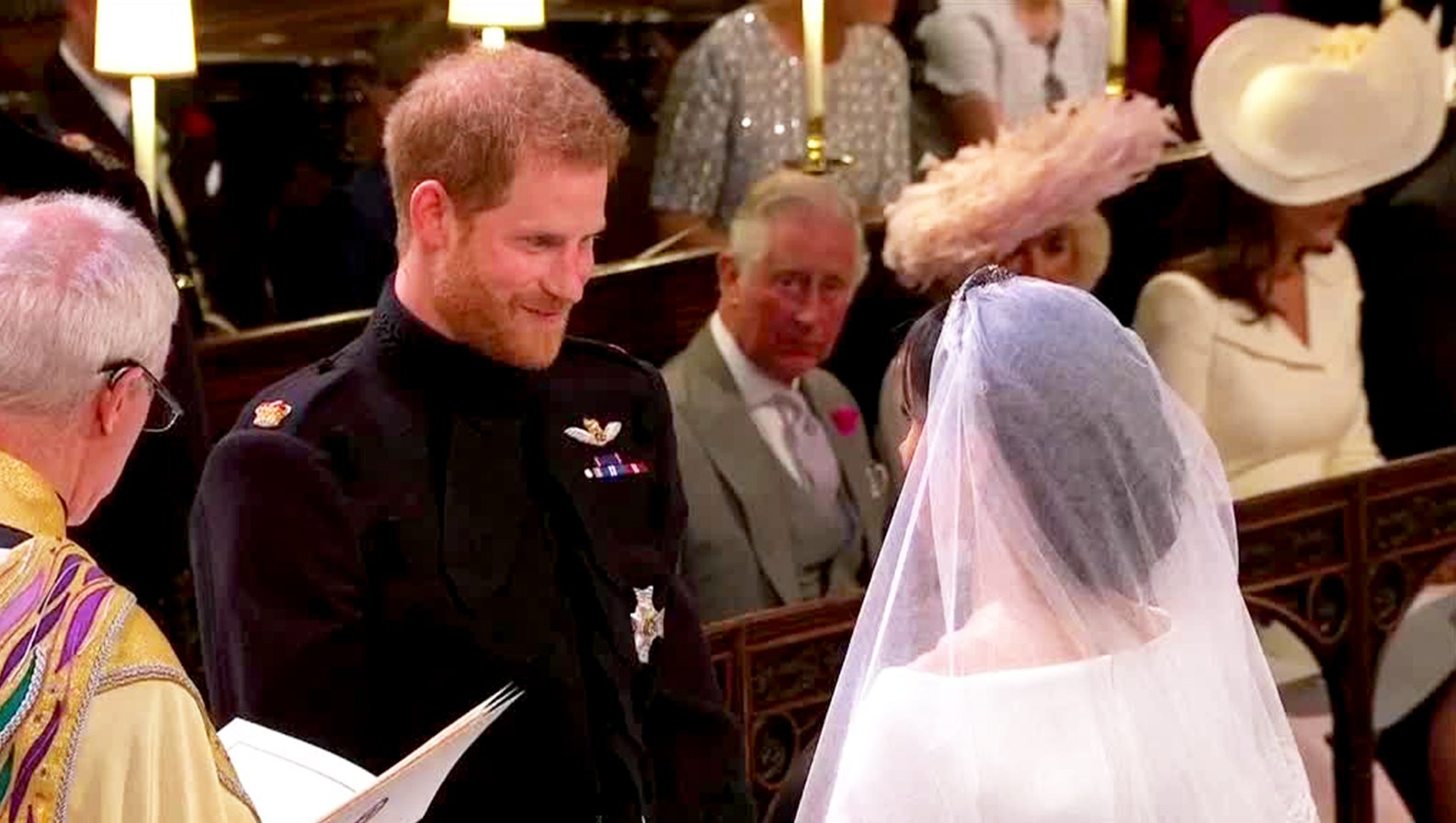 Prince Harry and Meghan Markle Royal Wedding Vows