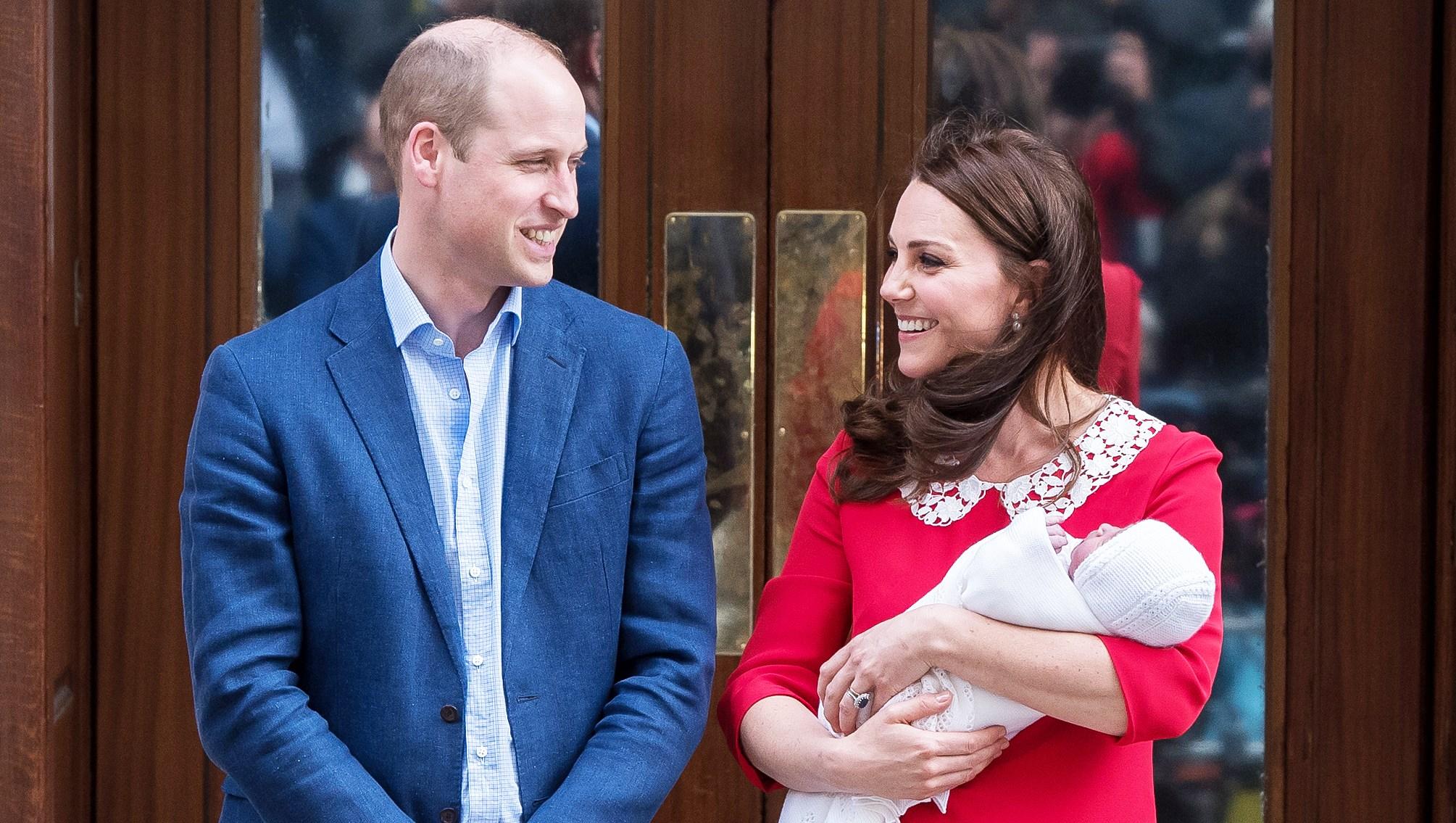 Prince William Duchess Kate baby