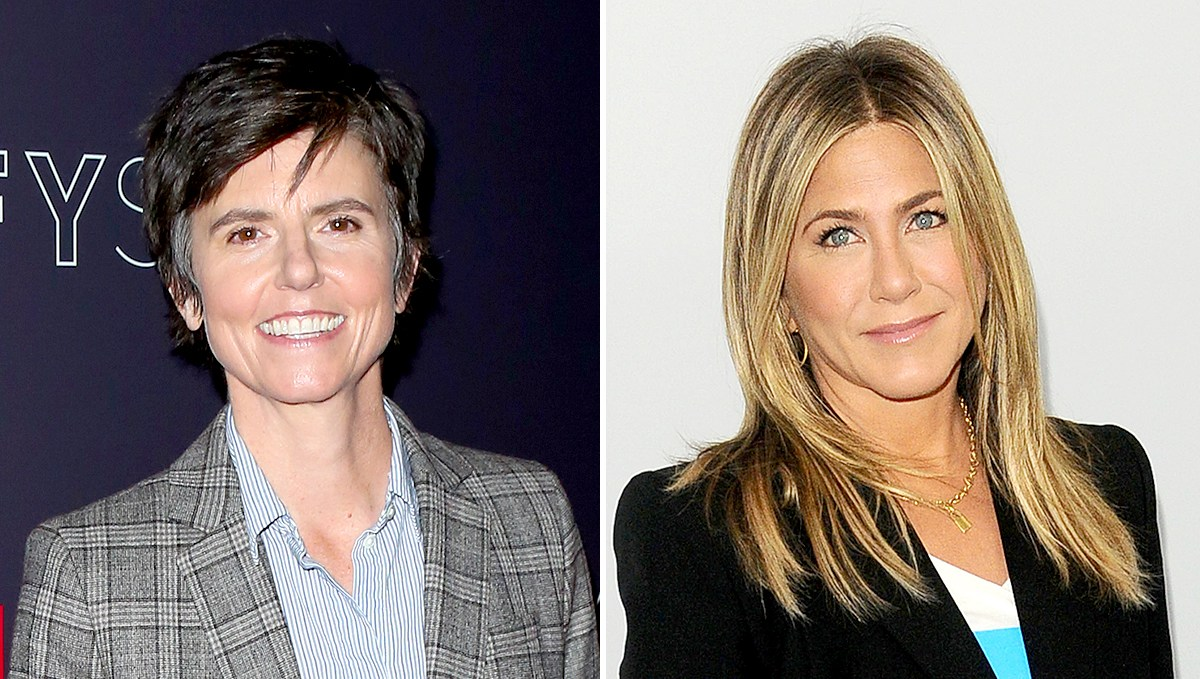 Tig Notaro and Jennifer Aniston
