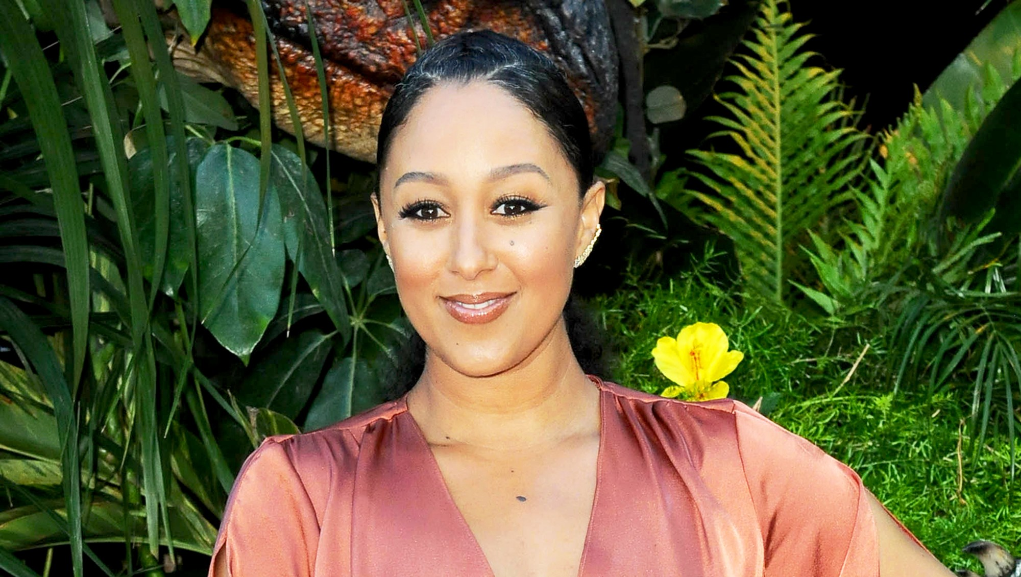 Tamara Mowry attends the premiere of Universal Pictures and Amblin Entertainment's 'Jurassic World: Fallen Kingdom' on June 12, 2018 in Los Angeles, California.