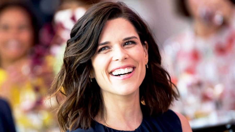 Neve Campbell attends 2017 Los Angeles Confidential Women of Influence tea at Waldorf Astoria Beverly Hills in Beverly Hills, California.