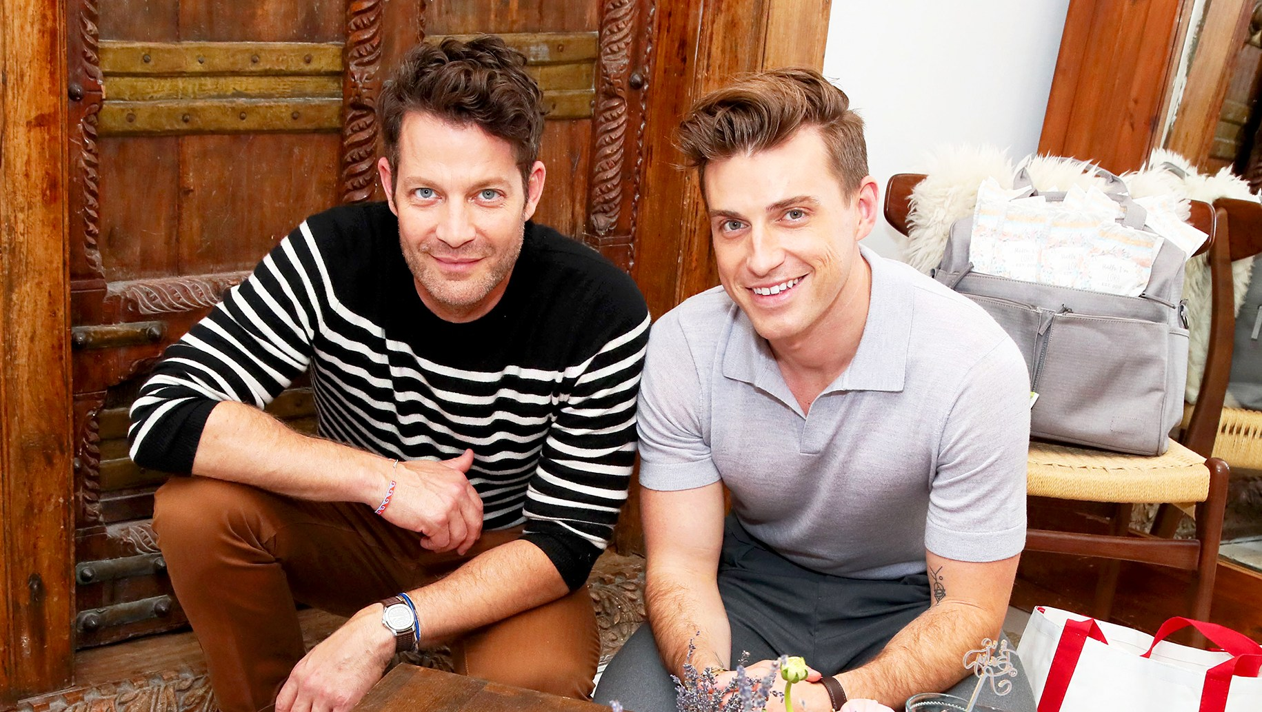 Nate Berkus and Jeremiah Brent and family team up with Huggies to launch Huggies Made by You, its first-ever personalized diaper. Available exclusively online at HuggiesMadeByYou.com.