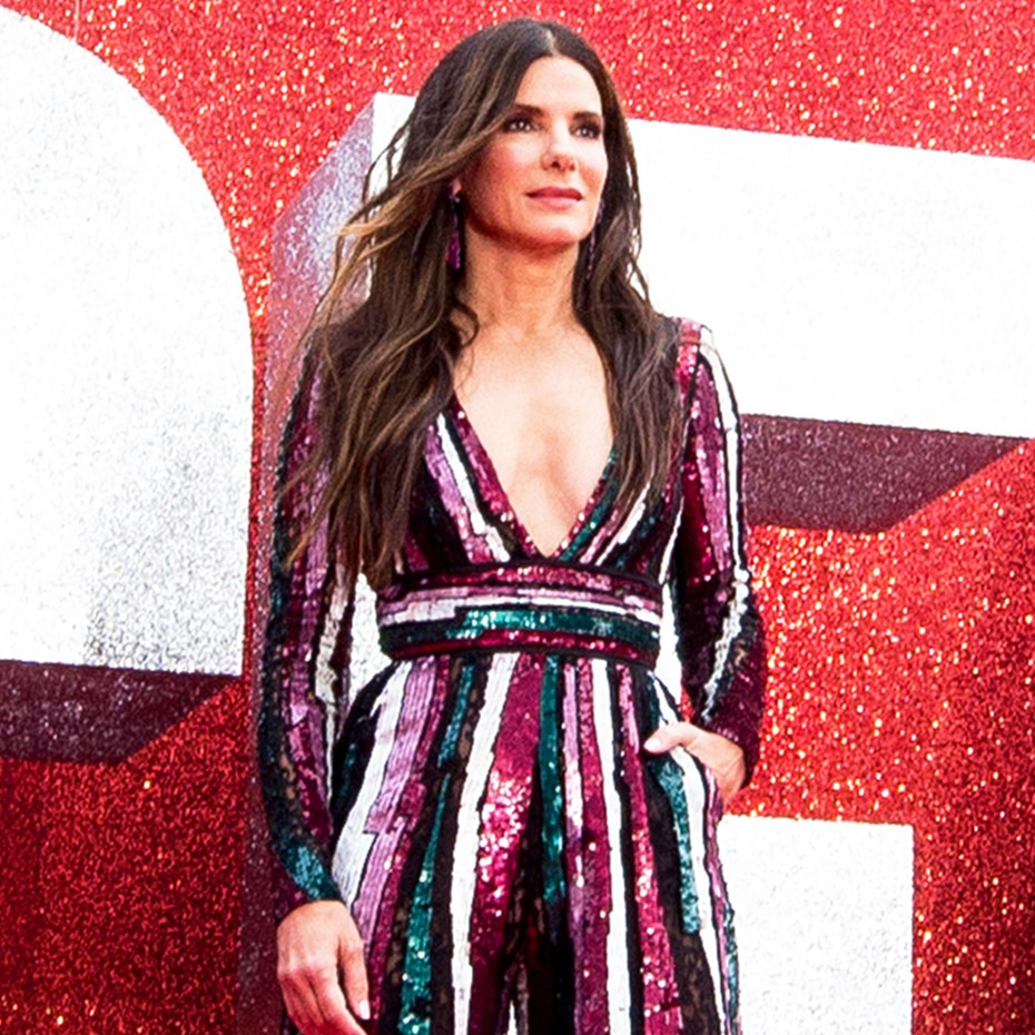 Sandra Bullock attends the 'Ocean's 8' UK Premiere held at Cineworld Leicester Square in London, England.