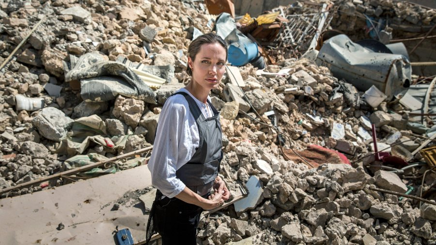 Angelina Jolie, UNHCR Special Envoy, United Nations High Commission for Refugees, West Mosul, Iraq