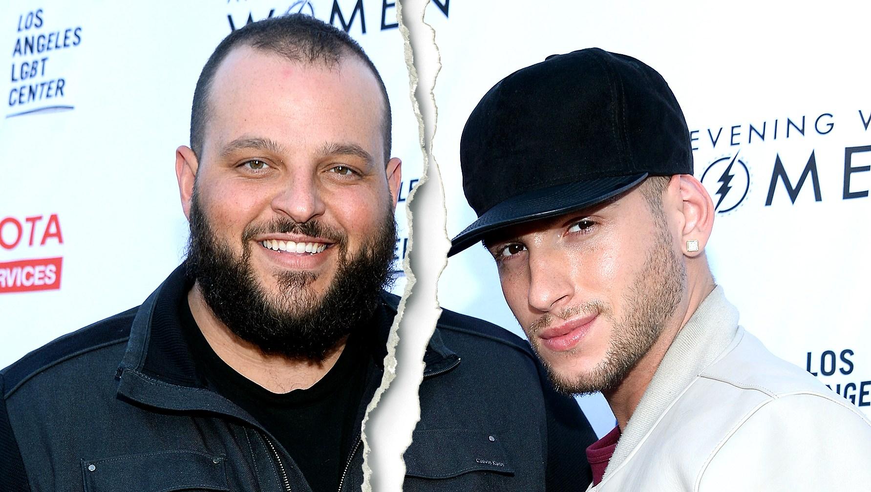 Celebrity Splits of 2018 Daniel Franzese and Joseph Bradley Phillips split