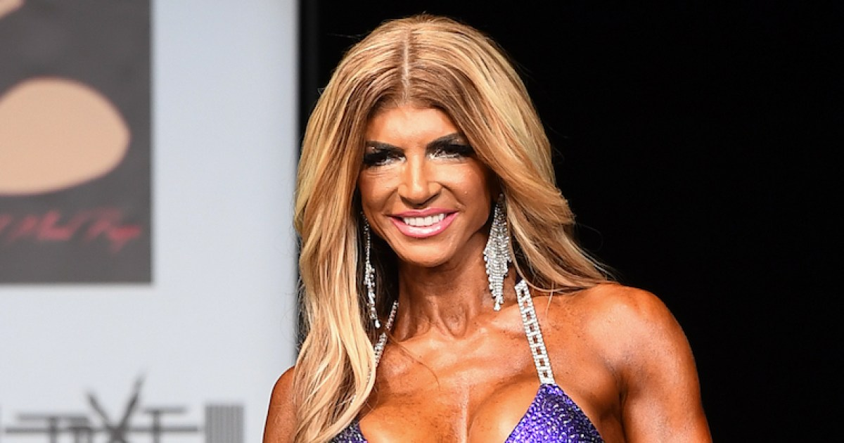 Teresa Giudice Competes in First Bodybuilding Competition, Takes Third Place: Photos