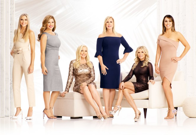 The Real Housewives of Orange County Gina Kirschenheiter Emily Simpson Shannon Beador Vicki Gunvalson Tamra Judge Kelly Dodd