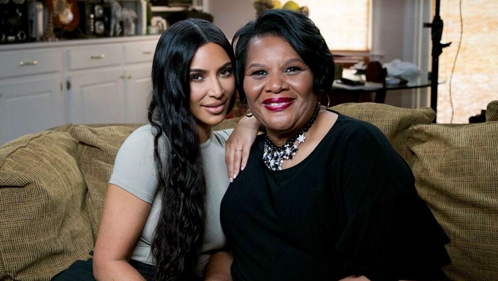 Kim Kardashian West and Alice Johnson