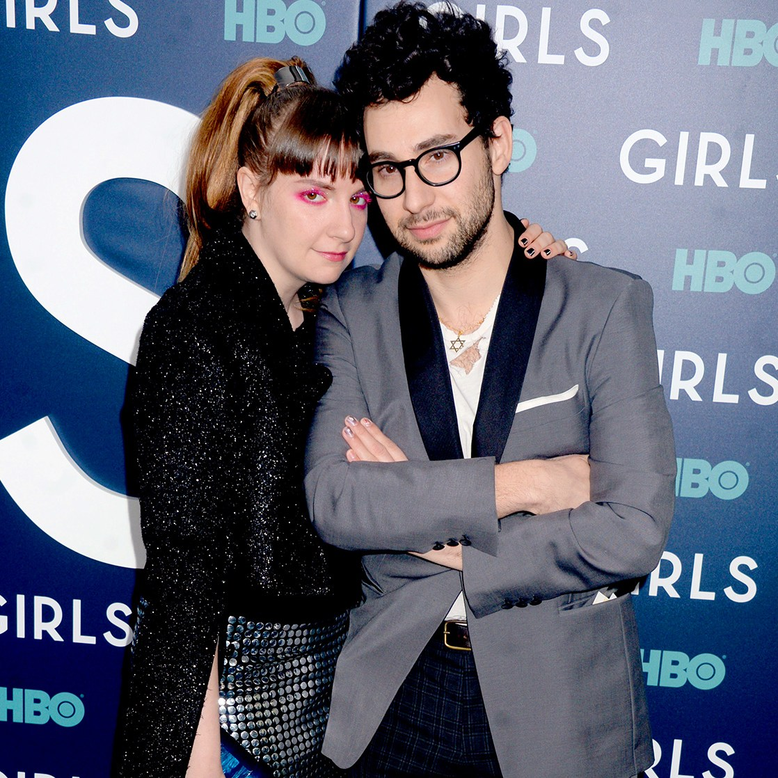 Lena Dunham, Jack Antonoff, Best Friends, Instagram