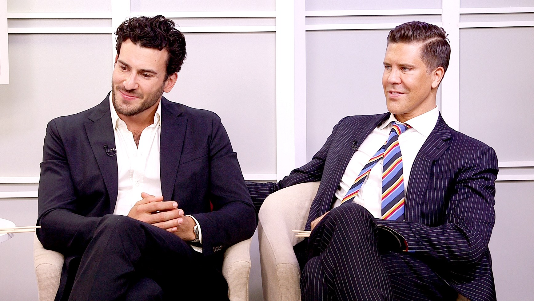 Fredrik Eklund and Steve Gold