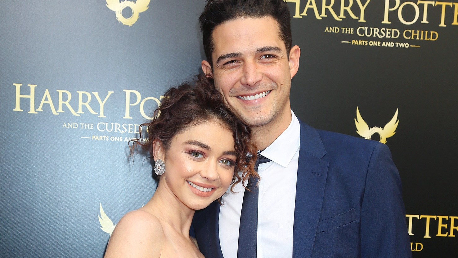 Sarah Hyland, Wells Adams, Hospital, Instagram