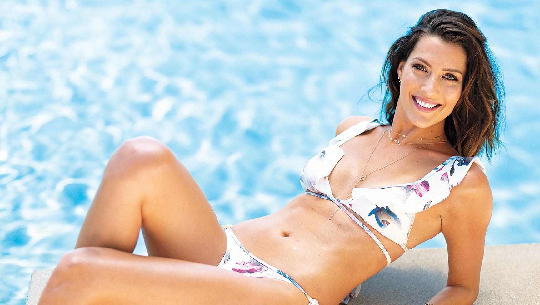 Becca Kufrin The Bachelorette bikini photo shoot