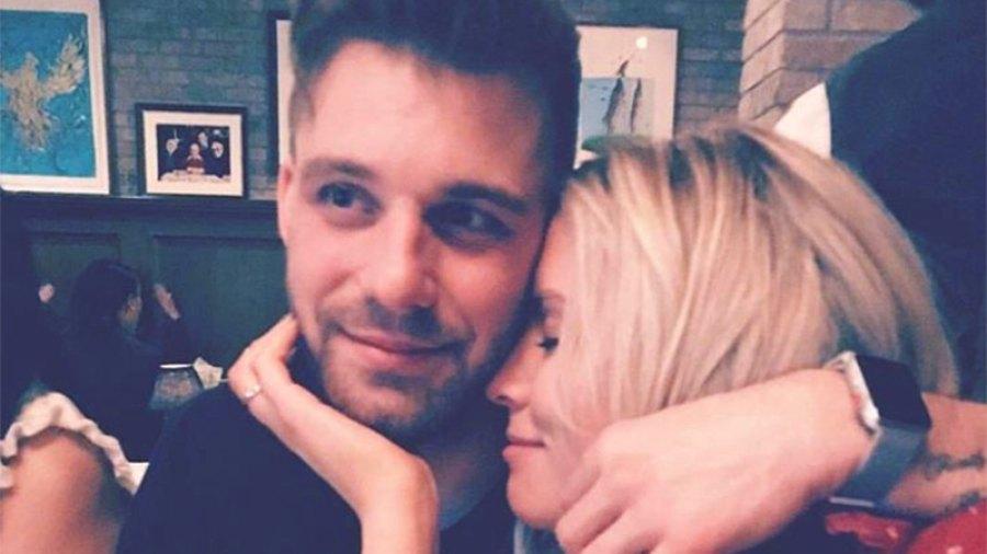 Danielle Maltby and Paulie Calafiore
