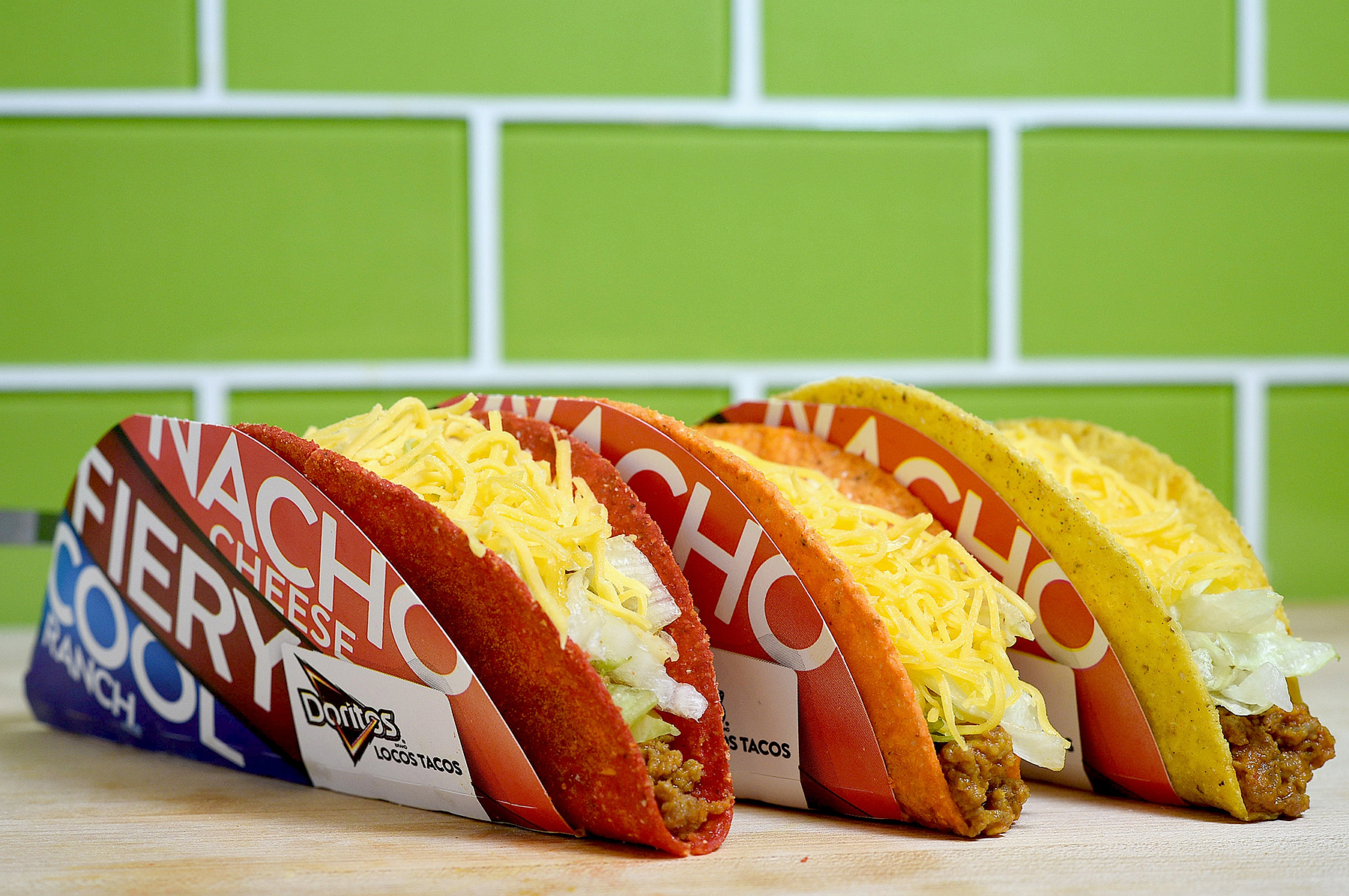 The Doritos Locos Tacos Joshua Blanchard  Getty Images for Taco Bell