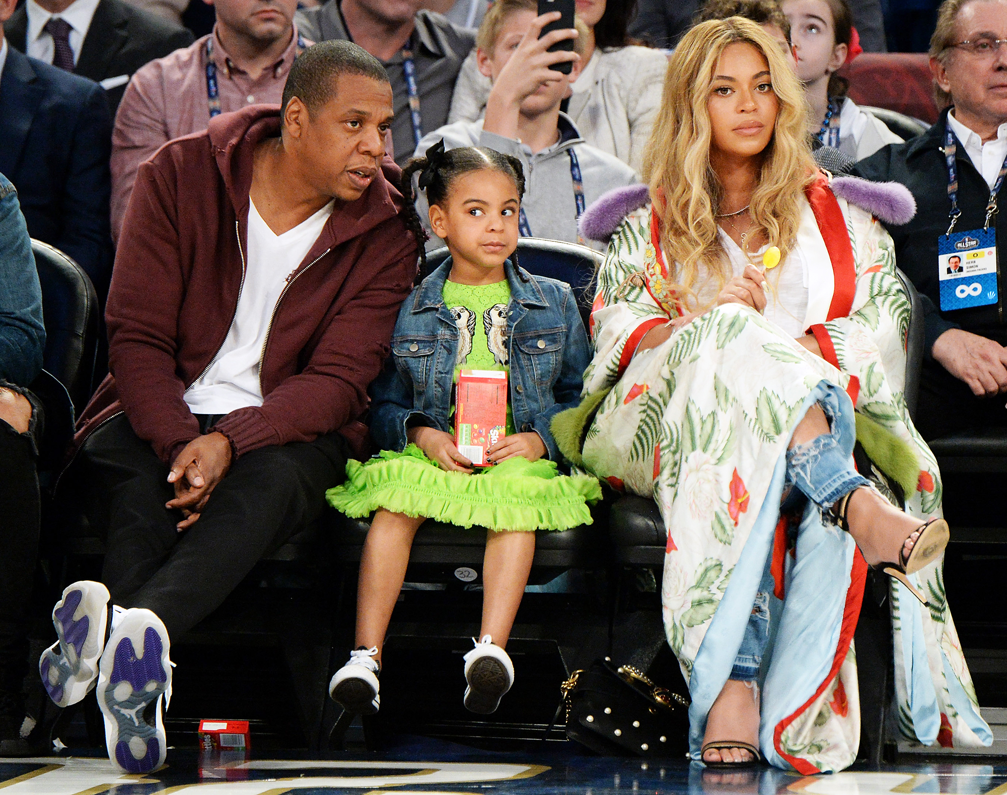 Blue Ivy's Reaction To Beyoncé & Jay Z's Raunchy Tour Footage Is EVERYTHING